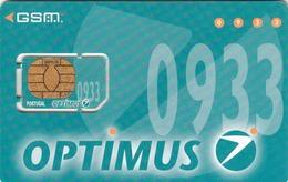 PORTUGAL - OPTIMUS 0933, GSM Card, Used - Portugal