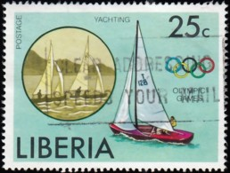 LIBERIA - Scott #739 Montréal '76 Olympic Games, Yatching / Used - Summer 1976: Montreal