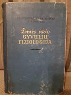 Lithuania  Soviet Union Period Farming Animal Physiology 1956 - Boeken, Tijdschriften, Stripverhalen