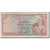 Billet, Ceylon, 2 Rupees, 1974-08-27, KM:72a, B+ - Sri Lanka