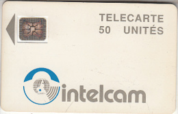 CAMEROON - White, INTELCAM Logo, First Issue 50 Units(large Arrow), Chip SC4, BN : 22926, Used - Cameroon