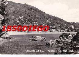 CITTADELLA DEL CAPO - PANORAMA VISTO DAGLI SCOGLI F/GRANDE VIAGGIATA 1963 ANIMATA - Cosenza