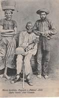 CPA -  CABO VERDE, Sao Vicente, Maria Guidinha Paquete E Manuel Joao, - Cape Verde