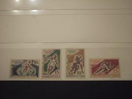 TOGO - 1960 OLIMPIADI  4 VALORI   - NUOVI(++) - Togo (1960-...)