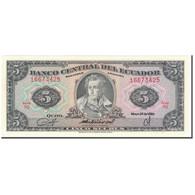Billet, Équateur, 5 Sucres, 1980-05-24, KM:113c, NEUF - Equateur