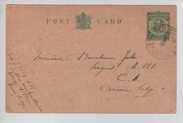 JS640/ Entier Anglais 1/2 Penny C.PMB-BLP 1916 écrit Par Militaire V.Miltaire A 151 - Army: Belgium