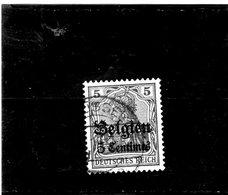 B - 1914 Germania - Occupazione Del Belgio - Zone Belge