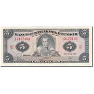 Billet, Équateur, 5 Sucres, 1983-04-20, KM:108b, NEUF - Equateur