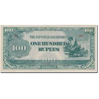 Billet, Birmanie, 100 Rupees, KM:17b, SPL - Myanmar