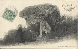 BELLAC , Dolmen Du Pont De Lanneau , 1903 , CPA ANIMEE - Bellac