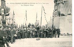 N°66790 -cpa Le Havre -fêtes Franco Belges 1924- - Le Havre