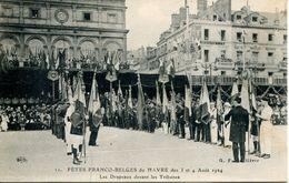 N°66791 -cpa Le Havre -fêtes Franco Belges 1924- - Le Havre
