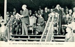 N°66802 -cpa Le Havre -fêtes Franco Belges 1924- - Le Havre