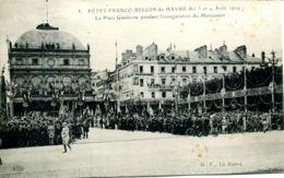 N°66807 -cpa Le Havre -fêtes Franco Belges 1924- - Le Havre