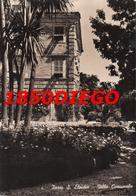 PORTO S. ELPIDIO - VILLA COMUNALE  F/GRANDE VIAGGIATA 1955 ANIMATA - Ascoli Piceno