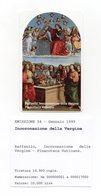 Vaticano - Urmet - Raffaello - Incoronazione Della Vergine - Nuova - Validità 1.1.2001 - (FDC13053) - Vaticano