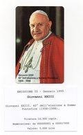 Vaticano - Urmet - 40° Dell'Elezione A Sommo Pontefice Di Giovanni XXIII° - Nuova - Validità 1.1.2001 - (FDC13054) - Vaticano