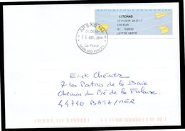Enveloppe Oblitération AP SPID 148 Sodexo La Poste 00200 HUB ARMEES Du 10/11/2018 - Marcophilie (Lettres)
