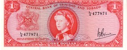 Trinidad & Tobago P.26c 1 Dollar 1964  A.unc - Trinidad Y Tobago