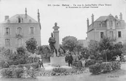 BRIVE - Un Coin Du Jardin Public (Place Thiers) Et Monument Du Colonel Germain - Très Bon état - Brive La Gaillarde