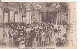 5-Mestieri: Croupier-Casinò-Giochi Di Carte-Montecarlo-v.1902 Con Francobollo Del Principato X Roma - Giochi, Giocattoli
