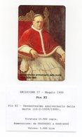 Vaticano - Urmet - 60° Anniversario Della Morte Di Pio XI° - Nuova - Validità 1.5.2001 - (FDC13056) - Vaticano