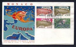 1962 MONACO EUROPA CEPT FDC - FDC