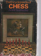 The ENCYCLOPEDIA Of CHESS: A. SUNNUKS Ed. St MARTIN'S New YORK 1970 - Livres, BD, Revues