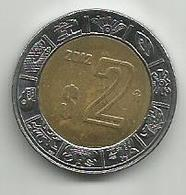 Mexico 2 Pesos 2012. - Mexique
