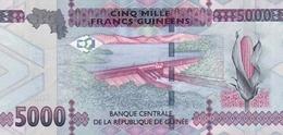 Guinea P.49 5000 Francs 2015  Unc - Guinea