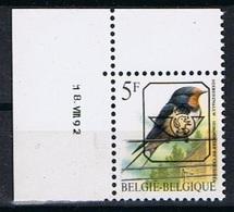 Belgie OCB 827 (**) Met Drukdatum 18.VIII.92 - Sobreimpresos 1986-..(Aves)
