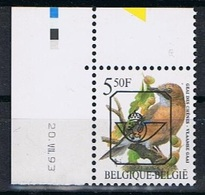 Belgie OCB 827B (**) Met Drukdatum 20.VII.93 - Sobreimpresos 1986-..(Aves)