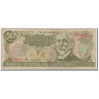 Billet, Costa Rica, 50 Colones, 1993-07-07, KM:257a, B - Costa Rica