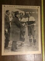 ANNEE 20/30 LA FINALE DE LA COUPE DE FRANCE DE FOOTBALL EQUIPE DE MONTPELLIER - Vieux Papiers