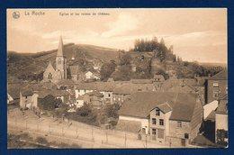 La Roche. Eglise Saint-Nicolas Et Ruines Du Château - La-Roche-en-Ardenne