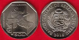 "Peru 1 Sol 2018 ""White-winged Guan"" UNC - Pérou"