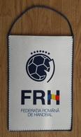 Pennant ROMANIA Handball Federation New Design 14.5x20cm Typ III - Handball