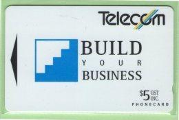 New Zealand - 1993 Build Your Business - $5 Steps - NZ-P-4 - Mint - New Zealand
