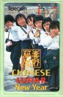 New Zealand - 1996 Chinese Lunar New Year - $5 Children - Mint - NZ-P-68 - Neuseeland