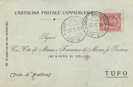 Sant'Apollinare. 1918. Annullo Frazionario (19 - 87), Su Cartolina Postale Commerciale - Poststempel