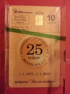 SLOVAQUIE Privatna Riaditel 'stvo 25 Rokov Bratislava Tirage 2000 ? MINT Nsb NEUVE (FA0718) - Slovacchia