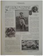 1912 INDOCHINE LE DUC DE MONTPENSIER - DOLE LA MAISON DE PASTEUR - OPERA DE MONTE CARLO - TRAINEAU A VOILE - Livres, BD, Revues