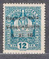 Italy Venezia Giulia 1918 Sassone#5 Mint Hinged - Occupation 1ère Guerre Mondiale
