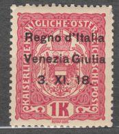 Italy Venezia Giulia 1918 Sassone#14 Mint Hinged - Venezia Giulia