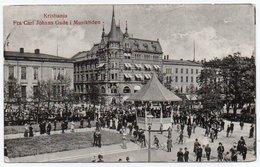 NORWAY/NORGE - KRISTIANIA/OSLO FRA CARL JOHANS GADE I MUSIKTIDEN / CIRCULATED TO U.S.A. 1930 - Norvegia