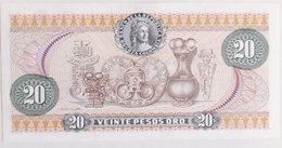 Colombia 20 Pesos Oro 1974, UNC, World Paper Money P-409b - Colombie