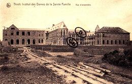 THIELT - Institut Des Dames De La Sainte Famille - Vue D'ensemble (en Construction Ou Reconstruction) - Tielt