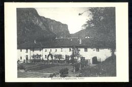 SVIZZERA - SUISSE - 1937 -  FAIDO - CONVENTO CAPPUCCINI - TI Tessin