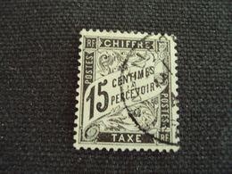 """1881-TAXE, N°  16  , Oblitéré, """"15 C      """"           Cote     12     Net           3.96 Euros - Taxes"""