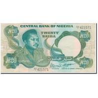 Billet, Nigéria, 20 Naira, KM:26f, SUP - Nigeria